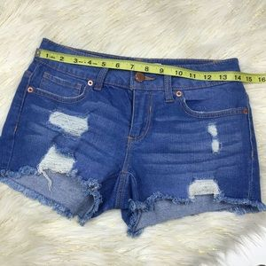 No Boundaries Jean Shorts Sz 3